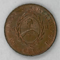 Argentina, Argentina: Copper Medallic Issue 1813,...