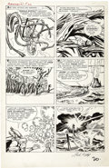 Original Comic Art:Panel Pages, Jack Kirby and Dick Ayers - Avengers #1, page 15 Original Art(Marvel, 1963)....
