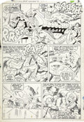 Original Comic Art:Panel Pages, Jack Kirby and Vince Colletta - Thor #128, page 8 Original Art(Marvel, 1966)....