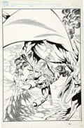 Original Comic Art:Covers, Mike DeCarlo - Savage Sword of Conan Illustration Original Art(Marvel, undated)....