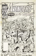 Original Comic Art:Covers, John Byrne - The Avengers #305 Cover Original Art (Marvel,1989)....