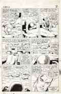 Original Comic Art:Panel Pages, Jack Kirby, Werner Roth, and Dick Ayers - X-Men #16, page 2Original Art (Marvel, 1966)....