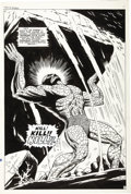 Original Comic Art:Splash Pages, Dan Adkins - Tales to Astonish #92 Splash Page 5 Original Art(Marvel, 1967)....