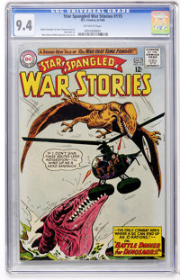 Star Spangled War Stories #115 (DC, 1964) CGC NM 9.4 Off-white pages