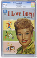 Golden Age (1938-1955):Miscellaneous, Four Color #535 I Love Lucy (#1) (Dell, 1954) CGC VF- 7.5 Cream to off-white pages....