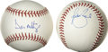 Autographs:Baseballs, Don Mattingly and Todd Ziele Single Signed Baseballs Lot of 2. Theoffered lot consists of single signed OML (Selig) baseba...