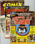 Magazines:Miscellaneous, Miscellaneous Comic Magazines Group (Various, 1971-75) Condition:Average VF.... (Total: 5 Comic Books)