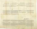 Autographs:U.S. Presidents, Martin Van Buren Whaling Document Signed ...