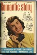 Golden Age (1938-1955):Romance, Romantic Story #2-4 Bound Volume (Fawcett, 1950)....