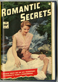 Golden Age (1938-1955):Romance, Romantic Secrets #38-39 Bound Volume (Fawcett, 1953)....