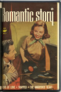 Golden Age (1938-1955):Romance, Romantic Story #5-7 Bound Volume (Fawcett, 1950)....
