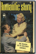 Golden Age (1938-1955):Romance, Romantic Story #8-10 Bound Volume (Fawcett, 1951)....