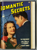 Golden Age (1938-1955):Romance, Romantic Secrets #26-31 Bound Volume (Fawcett, 1952)....