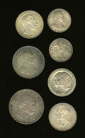 German Lots, German Lots: Seven-piece Prussia lot including:... (Total: 7 coins)