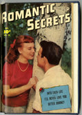 Golden Age (1938-1955):Romance, Romantic Secrets #20-25 Bound Volume (Fawcett, 1951)....