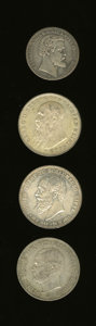German Lots, German Lots: A scarcer group of States including:... (Total: 4 coins)