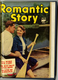 Golden Age (1938-1955):Romance, Romantic Story #20 and 21 Bound Volume (Fawcett, 1953)....