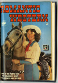 Golden Age (1938-1955):Romance, Romantic Western #2 and 3 Bound Volume (Fawcett, 1950)....
