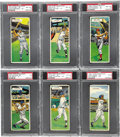 Baseball Cards:Sets, 1955 Topps Double Headers PSA-Graded Near Set (62/66). This set isa throwback to the 1911 T201 Mecca Double Folders. Offer...