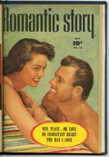 Golden Age (1938-1955):Romance, Romantic Story 11-13 Bound Volume (Fawcett, 1951)....