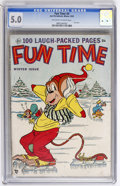Golden Age (1938-1955):Funny Animal, Fun Time #4 (Ace, 1953) CGC VG/FN 5.0 Off-white to white pages....