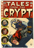 Golden Age (1938-1955):Horror, Tales From the Crypt #43 (EC, 1954) Condition: VG/FN....