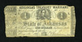 Obsoletes By State:Arkansas, (Little Rock), AR- State of Arkansas $1 Aug. 14, 1862 Criswell 30a. ...