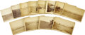 Western Expansion:Cowboy, Lot of Twelve C. D. Kirkland Cowboy Cattle Photographs, Wyoming,ca. 1880s.... (Total: 12 Items)