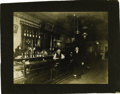 Western Expansion:Cowboy, Imperial Size Photograph Interior of Saloon ca 1890s....