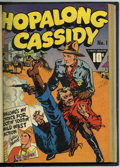 Golden Age (1938-1955):Western, Hopalong Cassidy #1-4 Bound Volume (Fawcett, 1943-46)....