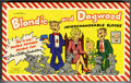 Memorabilia:Comic-Related, Blondie and Dagwood Interchangeable Blocks (King Features Syndicate, Inc., 1951). ...