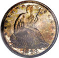 Proof Seated Half Dollars, 1848 50C PR66 NGC....