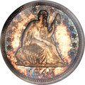 Proof Seated Quarters, 1847 25C PR66 NGC....