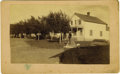 Western Expansion:Buffalo Soldiers, Large size Photograph Whipple Barracks, Arizona Territory ca 1890s....