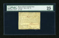 Colonial Notes:Rhode Island, Rhode Island July 2, 1780 $1 PMG Very Fine 25....
