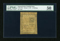 Colonial Notes:Pennsylvania, Pennsylvania October 1, 1773 15s PMG About Uncirculated 50....