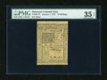 Colonial Notes:Delaware, Delaware January 1, 1776 10s PMG Choice Very Fine 35 EPQ....
