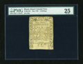 Colonial Notes:Rhode Island, Rhode Island May 1786 3s PMG Very Fine 25....