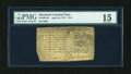 Colonial Notes:Maryland, Maryland April 10, 1774 $1/3 PMG Choice Fine 15....