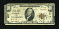 National Bank Notes:Virginia, Roanoke, VA - $10 1929 Ty. 2 The First National Exchange Bank Ch. #2737. ...