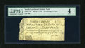 Colonial Notes:North Carolina, North Carolina March 9, 1754 26s/8d PMG Net Good 4....