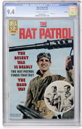 Silver Age (1956-1969):Adventure, Rat Patrol #4 File Copy (Dell, 1967) CGC NM 9.4 Off-white to white pages....