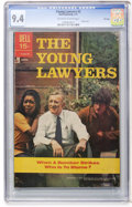 Bronze Age (1970-1979):Miscellaneous, Young Lawyers #2 File Copy (Dell, 1971) CGC NM 9.4 Off-white towhite pages....