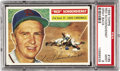 Baseball Cards:Singles (1950-1959), 1956 Topps Red Schoendienst #165 PSA Mint 9. During a 19-season career, all spent with the St. Louis Cardinals organization,...