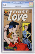 Silver Age (1956-1969):Romance, First Love Illustrated #90 File Copy (Harvey, 1963) CGC NM+ 9.6Cream to off-white pages....