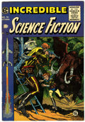 Golden Age (1938-1955):Science Fiction, Incredible Science Fiction #31 (EC, 1955) Condition: VG/FN....