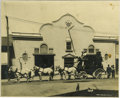 "Photography:Cabinet Photos, Imperial Size ""Stagecoach"" Photograph Calistoga Springs,California, ca. 1890s-1910s. ..."