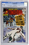 Bronze Age (1970-1979):Western, Tomahawk #139 (DC, 1972) CGC NM+ 9.6 Off-white to white pages....