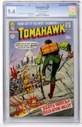 Bronze Age (1970-1979):Adventure, Tomahawk #130 (DC, 1970) CGC NM 9.4 Off-white to white pages....