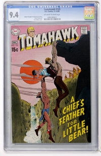 Tomahawk #125 (DC, 1969) CGC NM 9.4 Off-white to white pages